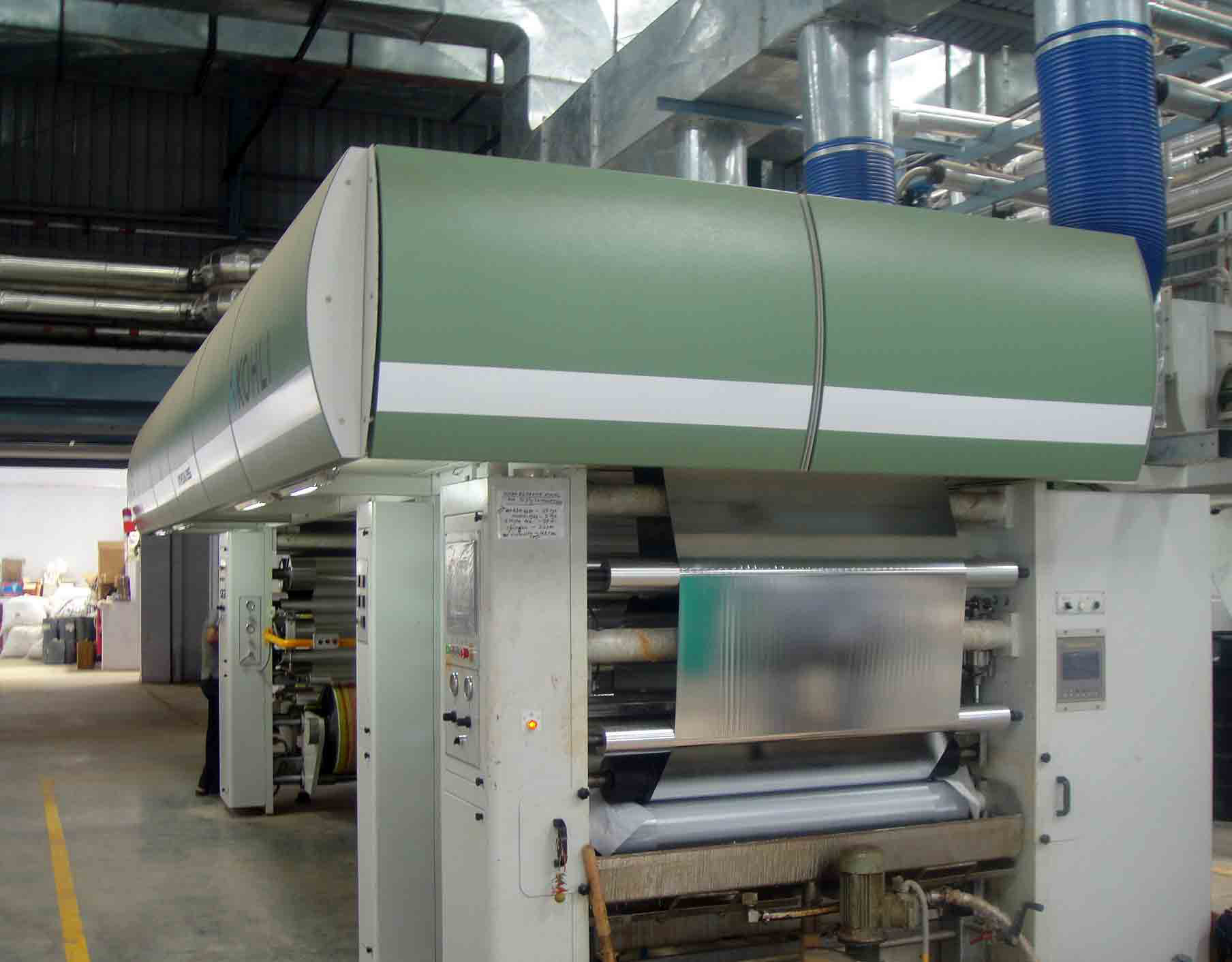 solvent base Lamination Machine Image